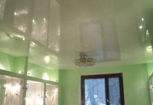 Эстетичность натяжного потолка