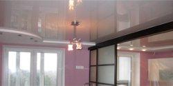Какой потолок выбрать: лаковый или матовый